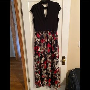 SLNY full length dress
